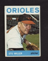 1964 Topps Baseball Card # 565 Stu Miller Baltimore Orioles EX - MT High # - $6.00
