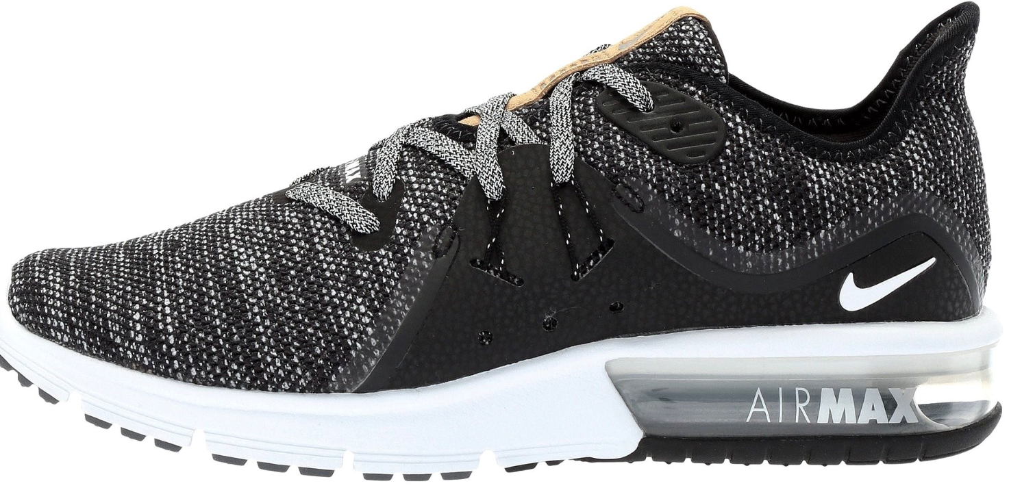 64904e4cea6 S l1600. S l1600. Previous. Nike AIR MAX SEQUENT 3 Womens Black Dark Grey  908993-011 Athletic Running Shoes