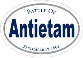 Antietam Battle American Civil War Vinyl Decal ... - $3.95