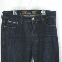 Womens Mavi Molly Straight Denim Jeans 30x30 Dark Wash Mid-Rise Cotton B... - $23.75