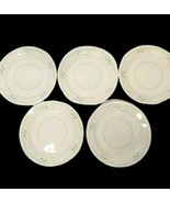 "Lot Of 5 Vintage 7"" Corelle Calico Rose Plates - $19.16"