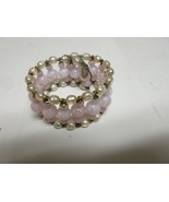 Costume Jewelry , Bracelet , Vintage , Miriam Haskell ,Pink/White Pearl ,Stretch - $125.00