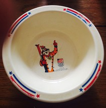 Tony Tiger Olympics 1991 USA Team Kellogg's Melmine Plastic Cereal Bowls... - $9.89