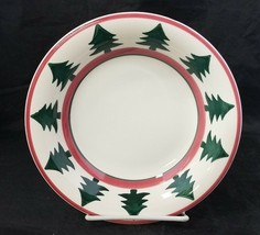 "Pier 1 O Tannenbaum Soup Bowl Set of 2 Christmas Trees 8.25"" Made in Ita... - $14.50"