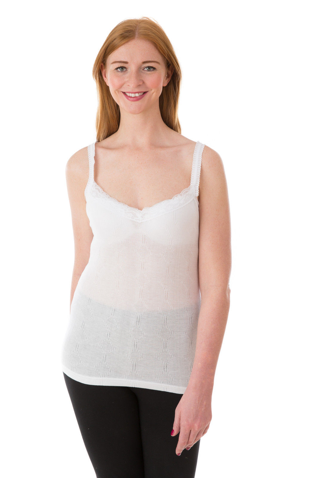 OCTAVE® 12 Pack Womens Thermal Underwear Sleeveless Camisole Vest