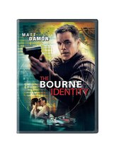 The Bourne Identity, Widescreen, DVD - $7.95