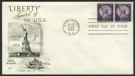 #1057 3c Statue of Liberty, Fleetwood-Addressed FDC **ANY 4=FREE SHIPPING** - $1.00