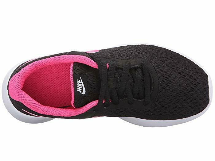 Nike Preschool Tanjun Athletic Shoes Black/Hyper Pink-White