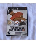 Tiger Woods PGA Tour 06 (Sony PlayStation 2, 2005) - $5.19