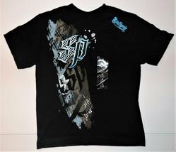 Southpole Boys T-Shirt Black Blue Size Small 4 NWT - $13.57