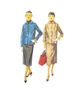 50s Vintage Simplicity Sewing Pattern 4871 Juniors Jacket Skirt 11  - $9.95