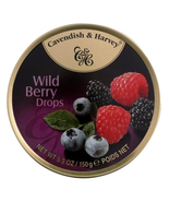 Cavendish & Harvey hard drop Wild Berry Drops Candy, 5.3 oz tin Case of ... - $44.99