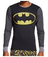BATMAN Cool Johns Long Underwear L 36 38 Large NEW Lounge Sleep Shirt - $18.00
