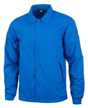 NEW MENS THE NORTH FACE BLUE PACKABLE WINDPROOF LIGHTWEIGHT COACH JACKET M - $49.49