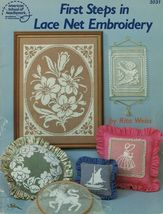 1984 First Steps In Lace Net Embroidery Sunbonnet Sue Rita Weiss Pattern... - $11.99