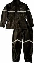 Nelson Rigg SR-6000 Stormrider 2-Piece Motorcycle Rain Suit Black 2XL Wa... - $61.38