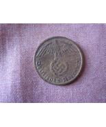 Germany one pfennig coin 1938 D Swastika  - €2,10 EUR