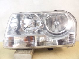 2005 2006 2007 2008 CHRYSLER 300 DRIVER LH 3-BULB HALOGEN HEADLIGHT OEM 86 - $92.15