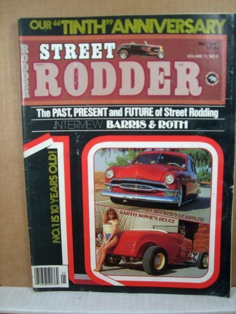 Street Rodder Magazine, May 1982 Barris & Roth