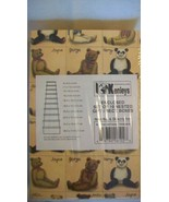 Set of 10 Nested Gift Rectangular Boxes, Antique Teddies  from Kenleys #... - $29.69