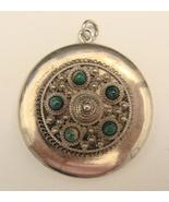 VINTAGE STERLING LOCKET - $125.00