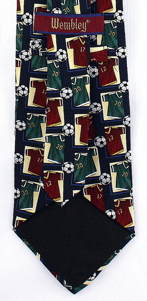 Soccer Game Jersey Men's Necktie Ball Player World Cup FIFA Football Neck Tie image 2