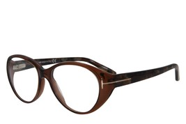 BRAND NEW TOM FORD TF 5245 050 BROWN EYEGLASSES AUTHENTIC FRAME RX TF524... - $51.52
