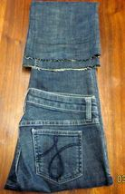JUICY COUTURE THE CALI WOMEN'S BOOT CUT Sz 26 (29x27) DARK STRETCH BLUE JEANS image 8