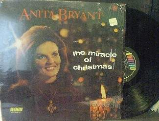 Anita Bryant - The Miracle of Christmas - Word Records WST 8558