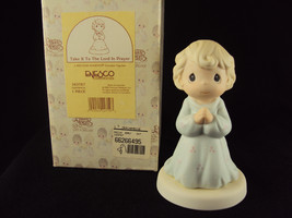 Precious Moments 163767, Take It To The Lord In Prayer 1995  Free Shipping - $24.95