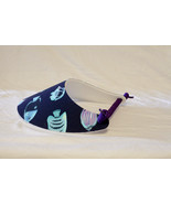 Foam Sun Visor/Sport Cap - Blue Tropical Fish - $7.00