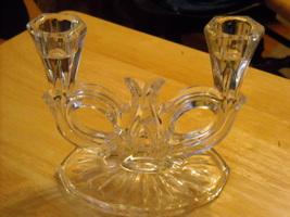 Depression glass - Candalabra - Mint condition - $20.00
