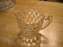 Jeanette Cubist Creamer - Mint - $7.00