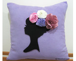Dreaming of spring cushion purple front thumb155 crop