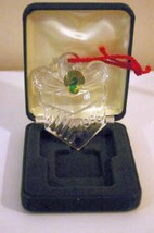 Waterford Crystal 1996 Gift Box Ornament Christmas memories Series 5th Edition - $13.85