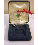 Waterford Crystal 1996 Gift Box Ornament Christmas memories Series 5th E... - $12.59