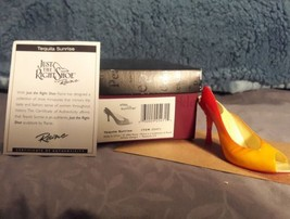 Just the Right Shoe, Raine, Step into Summer, Tequila Sunrise, 25471, In... - $15.00
