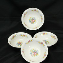 """Gibson Breath of Spring Soup Bowls 6.25"""" Lot of 4 - $58.79"""
