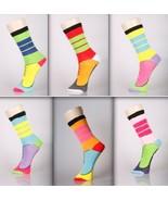 Sneaker Design Novelty Crew Socks- 6 Pairs - $13.99