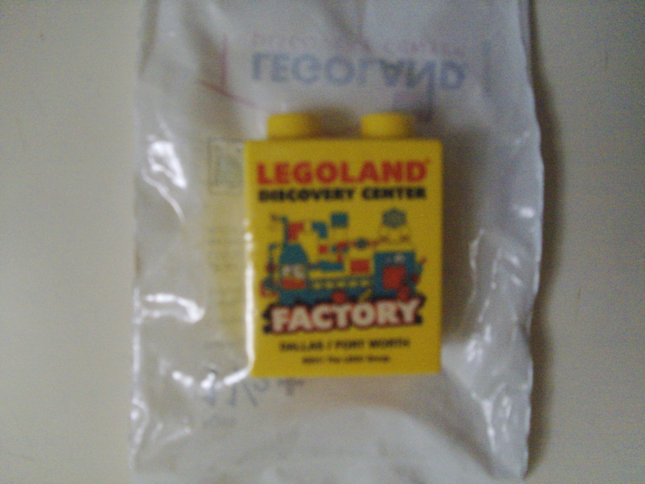 LEGO Dallas / Fort Worth Legoland Discovery Center Factory Tour Promo Brick New