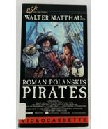 Roman Polanski's Pirates VHS 1986 Home Video Betamax Starring Walter Mat... - $10.39