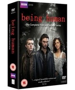 Being Human: Series 1 and 2 - UK Region 2 DVD - Russell Tovey - $7.79