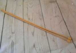 Size 7 4.5 mm  Bamboo Single Point 13 Inch Knitting Needles  - $8.56