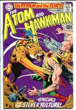 ATOM AND HAWKMAN #39 1968-DC COMICS-Joe Kubert art! FN- - $34.05