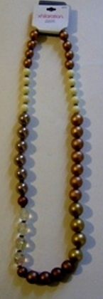 Exhilarations multicolored fat beaded  item  25