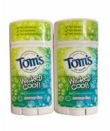 (2) Tom's of Maine WICKEDCOOL! 24hr Girls Summer Fun Deodorant  2.25oz E... - $17.81