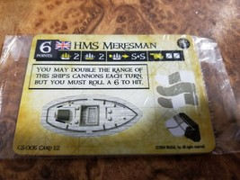 Pirates of the Spanish Main - HMS Meresman GS-005  Wizkids Unpunched Rar... - $19.79