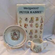 Wedgwood (England) Peter Rabbit 2 pc Set - $35.00