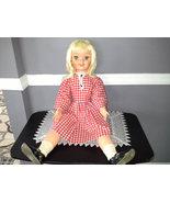 "Haunted 1960's Disney Pollyanna Doll By Uneeda, Huge 30"" Highly Active - $119.95"