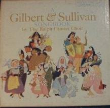 Ralph Hunter Choir GILBERT & SULLIVAN w/ 4 songbooks - RCA Victor LPM-2116  - $5.00